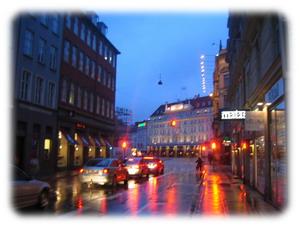 Вечерний Копенгаген