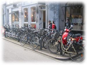 Велосипеды везде
