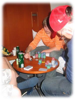 Вечерний покер