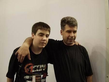 Андрей с отцом