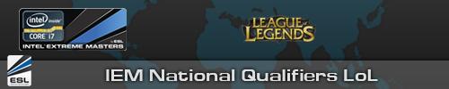 Регистрация на League of Legends