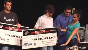 Cypher winning 5,000