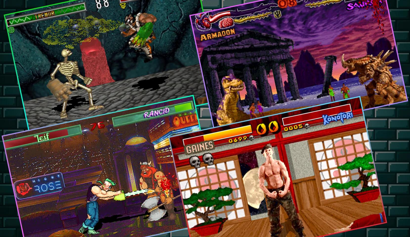 Все очень плохо. Трешовые клоны Mortal Kombat из девяностых
