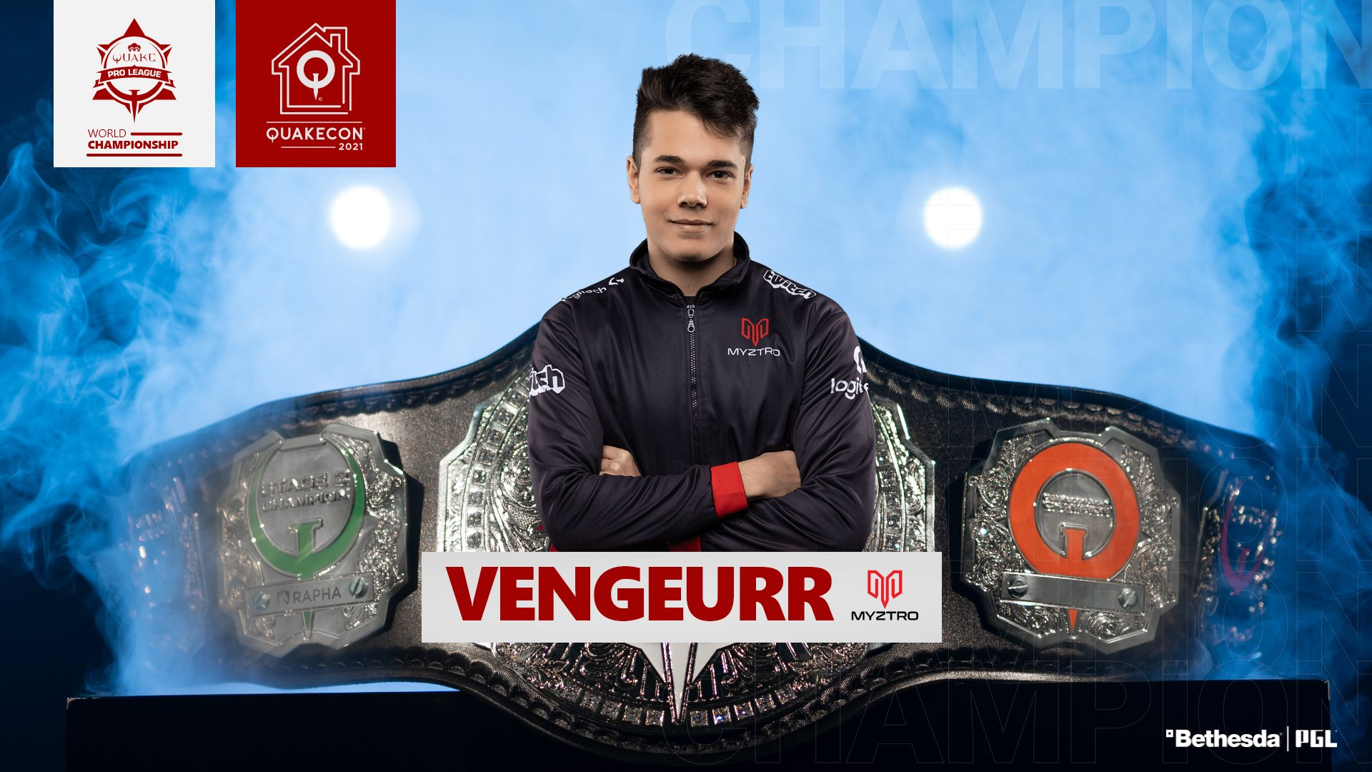 Rapha повержен, vengeurR – новый чемпион мира по Quake Champions!